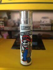 "Amsterdam Bad-day Mario X Jason ""Machete"" Clipper Lighter Ultra Rare Refillable"