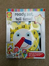 ALEX LITTLE HANDS READY SET TELL TIME AGE 4+  LEARNING CLOCK