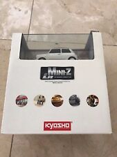KYOSHO MINI Z LIT MORRIS MINI COOPER NEW IN BOX WHITE COLOR