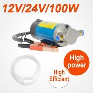 12V 100W Car Electric Oil Transfer Extractor Fluid Diesel Pump Siphon Motorbike