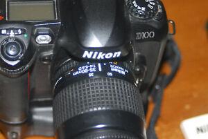 Nikon D-100 D100 Digital Camera, 35-80 Nikkor autofocus lens, complete package!!