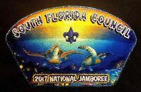 OA O-SHOT-CAW 265 SOUTH FLORIDA 2017 BSA JAMBOREE WYLAND JSP BLUE MYLAR DELEGATE