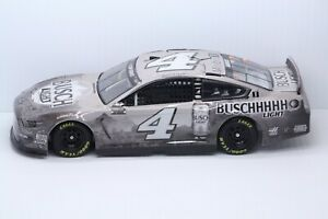 KEVIN HARVICK 2020 #4 BUSCH LIGHT GRAYSCALE FORD MUSTANG 1/24 CUSTOM