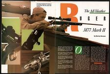 1992 RUGER M77 M-77 Mark II Rifle 4-page Evaluation Article