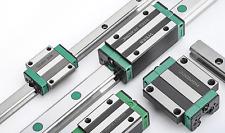 2pcs Hgr20 250mm 2700mm Linear Guide Rail 4pcs Hgh20ca Cnc Router Plasma 3d