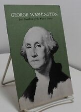 George Washington - John Hancock Insurance Company - advertising booklet