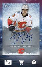 18-19 SIGNATURE SERIES (TOPPS SIGNATURE) JOHNNY GAUDREAU NHL Skate Digital