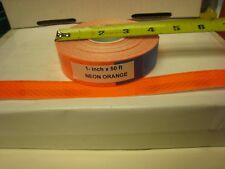 """NEON ORANGE  Reflective   Conspicuity  Tape 1"""" x 50 feet   Thick"""