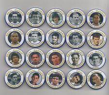 REAL  MADRID  FC   LEGENDS  BADGES  X 20      38mm  IN SIZE