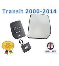 Ford Transit Mk6 2000-2014 Wing Mirror Glass Heated N/S Passenger Side Left
