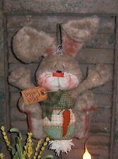 Primitive Patti's Ratties Bunny Rabbit Egg Easter Door Doll Paper Pattern 302
