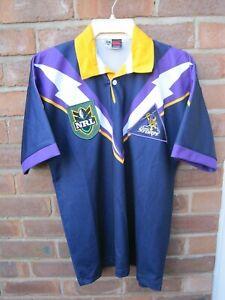 Vintage Melbourne Storm Rugby League Jersey. NRL Shirt.