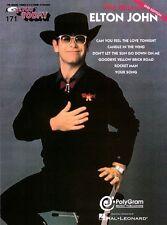 The Best of Elton John Sheet Music E-Z Play Today Book NEW 000101537