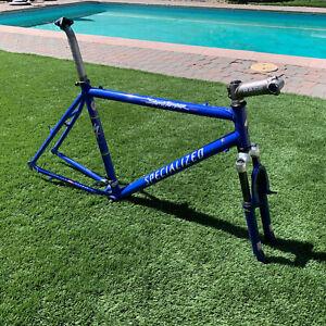 "1998 Specialized Stumpjumper Comp 20.5"" Large M2 Mountain Bike Frame Fork Parts"