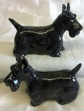 QUAIL SCOTTISH TERRIER SCOTTIE DOG SALT & PEPPER POTS CONDIMENT OR CRUET SET