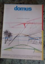 RIVISTA DOMUS 696 1988 REVIEW ARCHITECTURE INTERIOR DESIGN ART ANNI 80 CALATRAVA