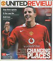 Football Programme - Manchester United v Southampton - Premiership - 4/12/2004