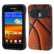 US Cellular Samsung Galaxy S II 2 TPU Candy HYBRID GLOW Case Cover Basketball