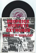 """Oxymoron/Dropkick Murphys """"split"""" 7"""" OOP VG+ Flogging Molly Real McKenzies"""