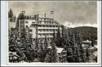 1958 Schweiz Stempel AROSA a/ AK Hotel Hohenfels