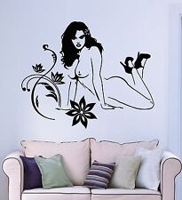 Wall Stickers Vinyl Decal Hot Sexy Naked Attractive Gorgeous Girl (ig961)