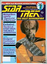Star Trek the Next Generation Magazine #7 1989