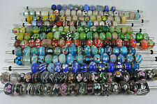 50 Glass Lampwork Beads Asst Colours - Bargain Price