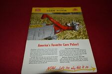 Ford Tractor Corn Picker Dealer's Brochure AMIL4