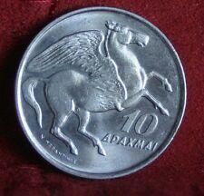 Greece Grece Grecia 1973 B 10 Drachma  , Pegasus the flying horse, Phoenix , UNC
