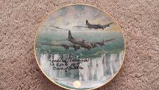 WILLIAM BILL GUARNERE BAND OF BROTHERS BOB  WWII AUTOGRAPH SIGNED SORTIE PLATE