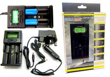Universal Cargador De Batería AA AAA ULTRAMAX Li-ion LiFePO 4 18650 baterías de 22650
