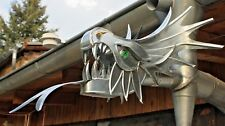 """Wasserspeier """"Zarkon"""", Drachen, Drachenkopf, Dragon, Zink, DN 60/ DN 76, Ablauf"""