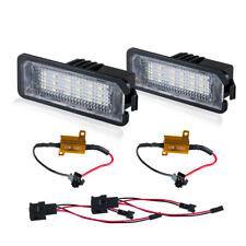 2Pcs 18 LED License Plate Lights Car Lamp For VW Golf Jetta Caddy Touran T5