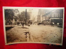 RPPC 1922 Flood Carbondale, Pa Scranton, Pa Wilkes-Barre, Pa Main St. & 6th Ave.