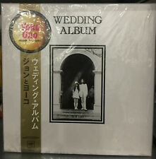 John Lennon And Yoko Ono – Wedding Album Japanese LP Box Set
