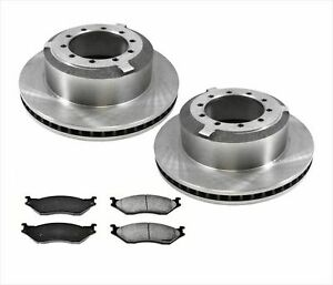 Fits For 05-16 Ford F450 Super Duty Rear Brake Disc Rotors & Pads