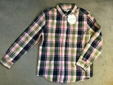 Girls' Checked Long Sleeve Sleeve 100% Cotton T-Shirts, Top & Shirts (2-16 Years)