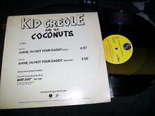 "Kid Creole & The Coconuts-Annie, I'm-12""-Sire-Promo-VG+"