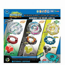 """NEW""Beyblade BURST B-65 Beyblade Super Custom Set Speed  -FreeShip & Track-"