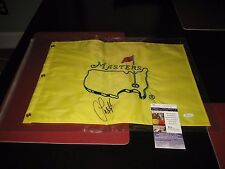 SANDY LYLE signed UNDATED Masters FLAG AUGUSTA Masters Champ  VERY RARE JSA