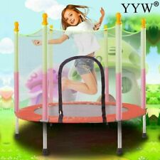 Trampoline Indoor Kids Outdoor Mini Exercise Fitness Bouncer Safety Child Jump