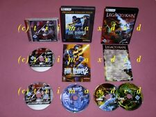 3xpc _ Soul nyree 2 & Blood Omen 2 & Legacy of Kain Defiance _ muy buen estado