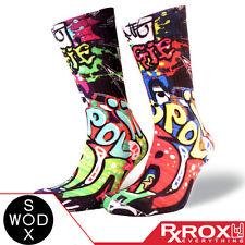 Angie by WODSOX | Breathable Cushioned WOD Socks UK Size 7-11 | CrossFit