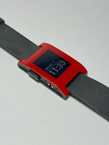 Pebble Smart Watch (Black/Red)