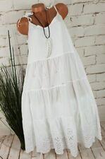 MADE IN ITALY Tunika Kleid Blusenkleid Azteken Print Ethno Boho dunkelgrau 36-44