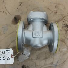 """BONNEY FORGE 092959-0010 1"""" INCH flanged swing check valve DN25 25mm Class 150"""