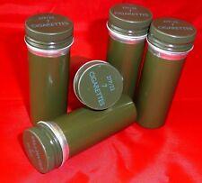 Ration Tin x 5 -Ex MOD Survival Kit Cigarette Containers