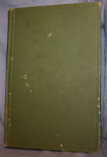 VINTAGE~THE PRINCIPLES OF BACTERIOLOGY~ARTHUR EISENBERG~HC~1924 3RD EDITION~GOOD