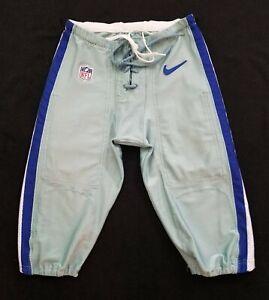 #42 of Dallas Cowboys Player Worn Seafoam Green Football Pants - Size 32 Short