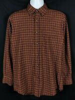 Sir Pendleton Shirt Mens M Long Sleeve Button Front Worsted Wool Plaid Mexico